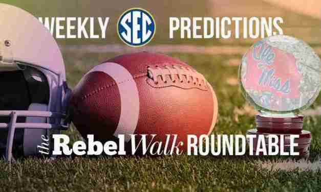 The Rebel Walk Roundtable: Our Week 2 SEC Picks