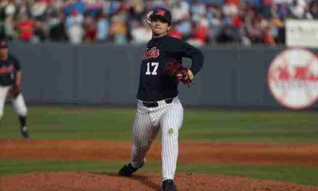 Hoglund's career day leads Rebels to series win over Xavier
