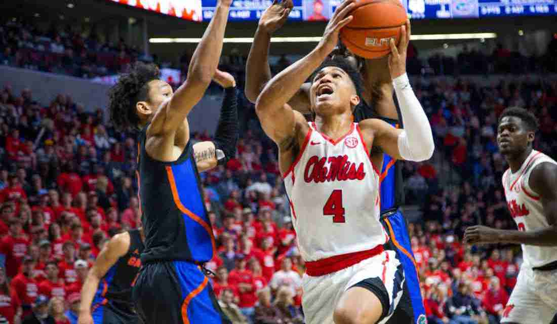 Later, Gator: Ole Miss wins second conference game in a row, defeating Florida 68-51
