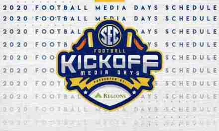 Schedule Released for 2020 SEC Media Days: Coach Kiffin set for July 14