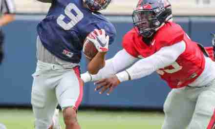 PHOTOS: Pics from Saturday's Ole Miss Scrimmage