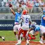 Corral and offense shine despite Rebels' season-opening loss to Gators
