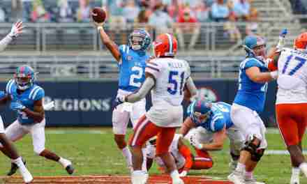Corral and offense shine despite Rebels' season-opening loss to Gators