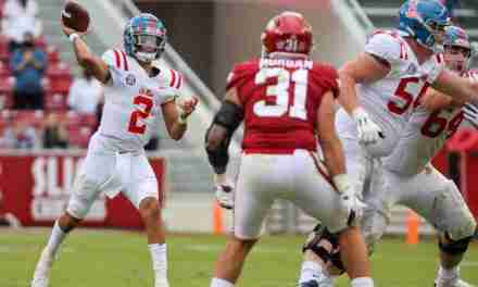 QB Film Room: Rebels drop a heartbreaker in Arkansas, and a look back to playing against Monte Kiffin's 1977 Hog Defense