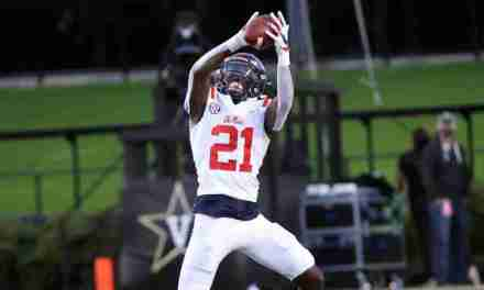 Ole Miss DB A.J. Finley giving max effort, staying away from 'loaf' designation