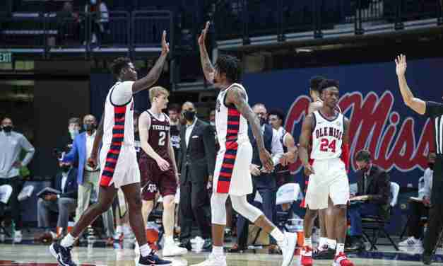 Ole Miss Defeats A&M, 61-50, to Win Second Straight SEC Game