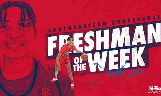 Snudda Collins Named SEC Freshman of the Week