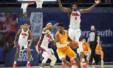 Defense Dominates as Ole Miss beats No. 10 Tennessee, 52-50