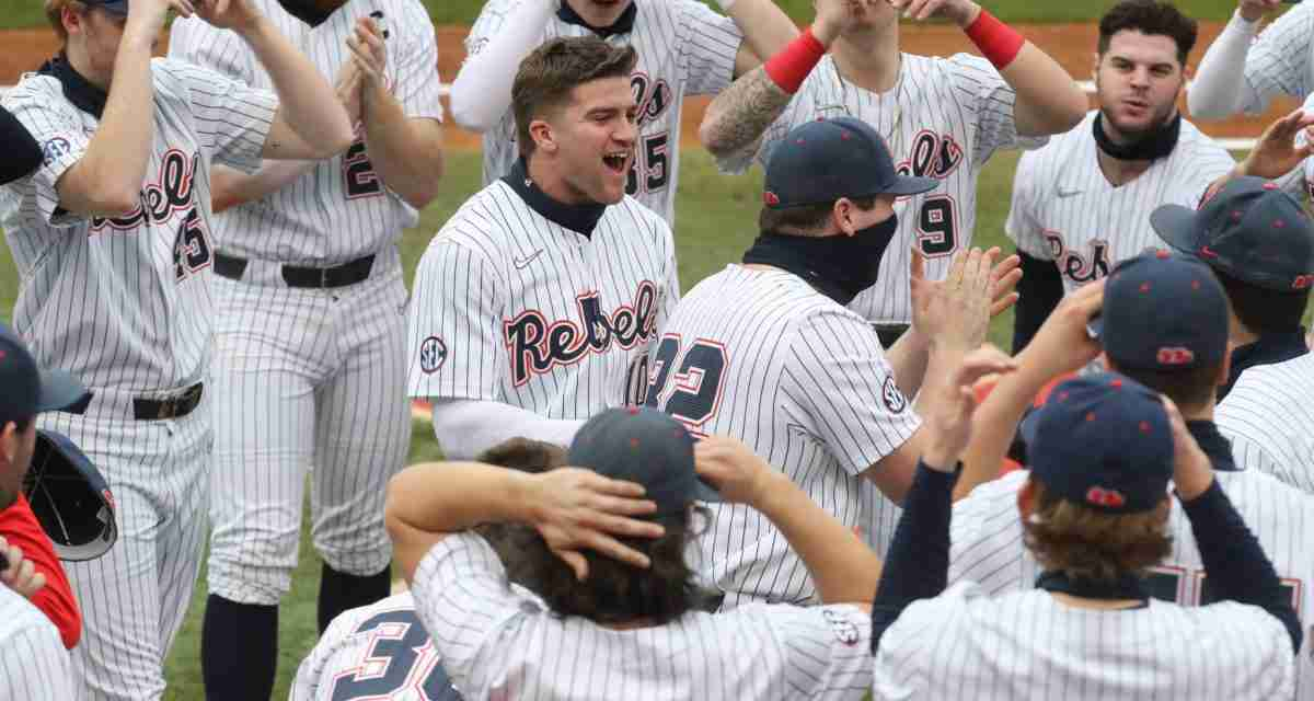 No. 1 Rebs use dominant pitching and plenty of offense to pound Arkansas State, 12-1, in home opener