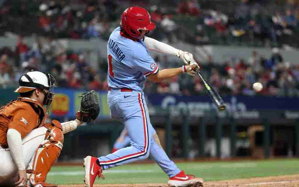 Ole Miss' Peyton Chatagnier Named SEC Co-Player of the Week