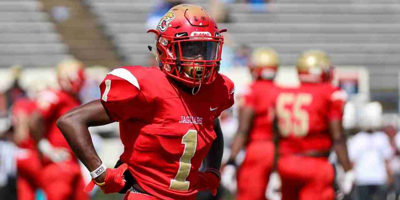 4-star Cornerback Khamauri Rogers, head coach Marcus Rogers talk the recruitment of the state's No. 1 player