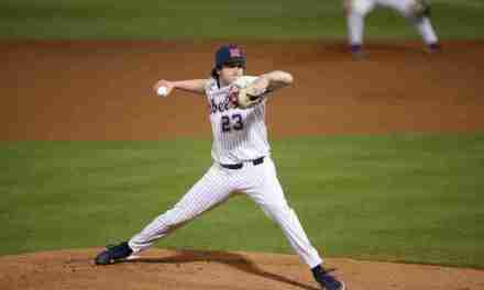 Rebels defeat Alcorn State, 11-1, in eight innings