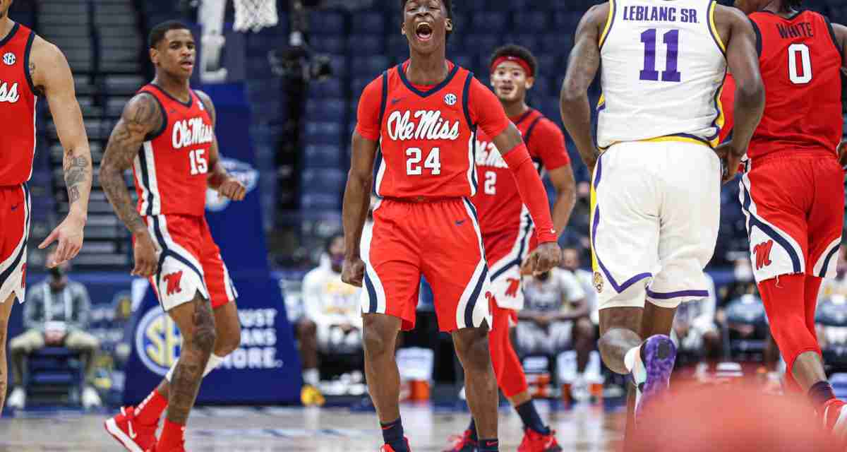 Ole Miss drops hard-fought SEC tourney game to LSU, 73-76
