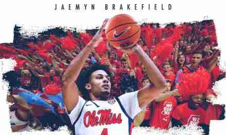 Jaemyn Brakefield is officially an Ole Miss Rebel