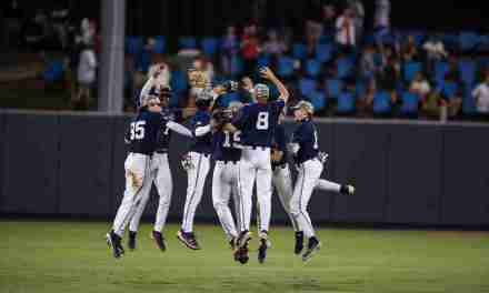 Ole Miss defeats South Carolina in Game One, 5-1