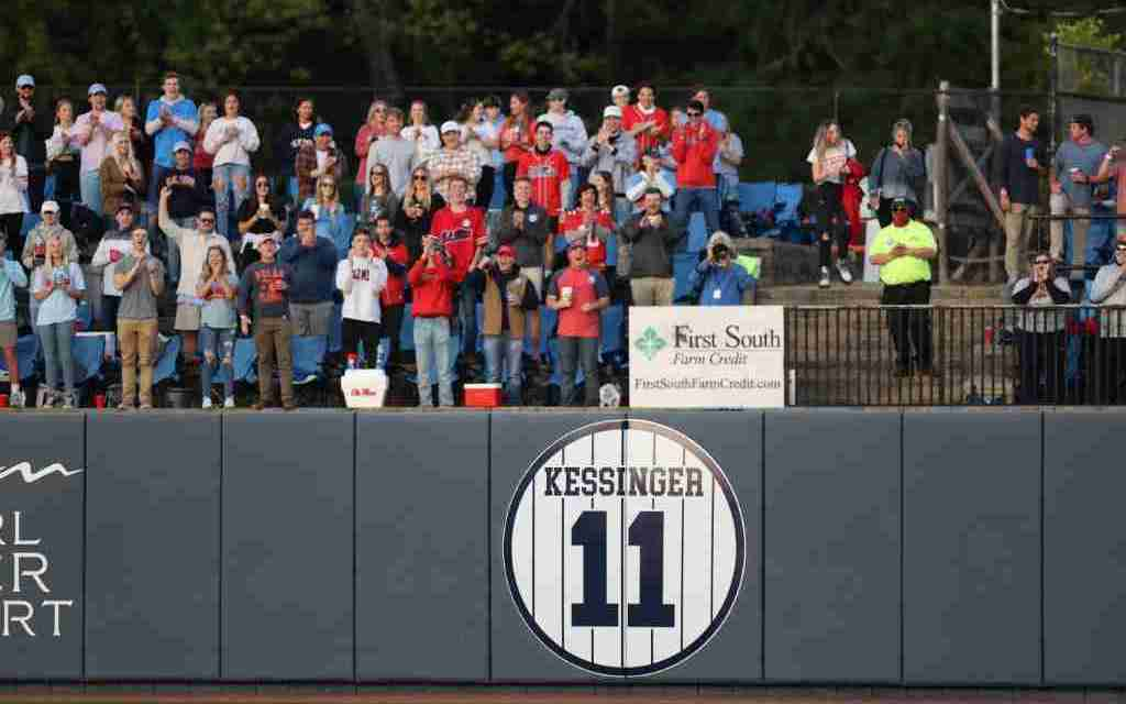 Ole Miss Great Don Kessinger's No. 11 Retired: Former Players, Coach Bianco Honor the Legendary Player, Coach