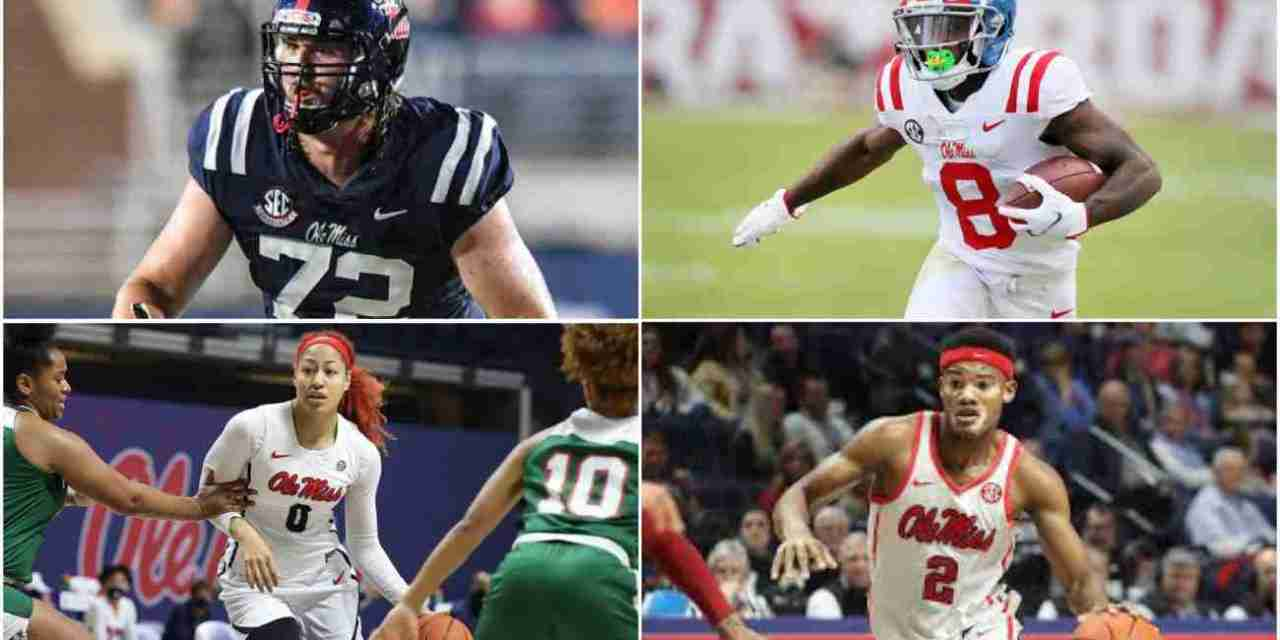 Ole Miss Athletes Steal the Show at C Spire Awards