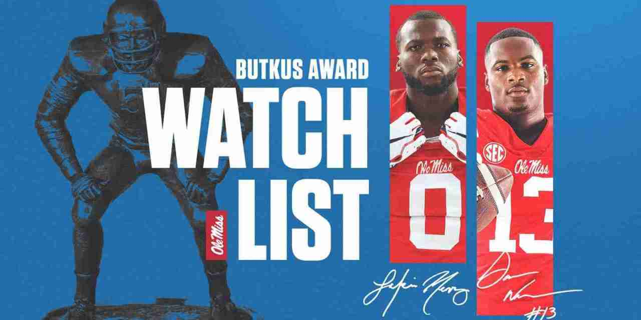 Henry, Williams Named to Watch List for Butkus Award