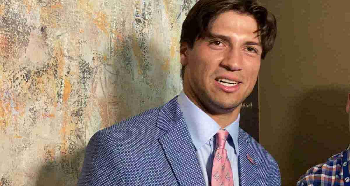 VIDEO: QB Matt Corral meets with reporters at SEC Media Days