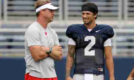 WATCH: Lane Kiffin, Snoop Conner, Tariqious Tisdale talk about the Rebels' Sunday Scrimmage