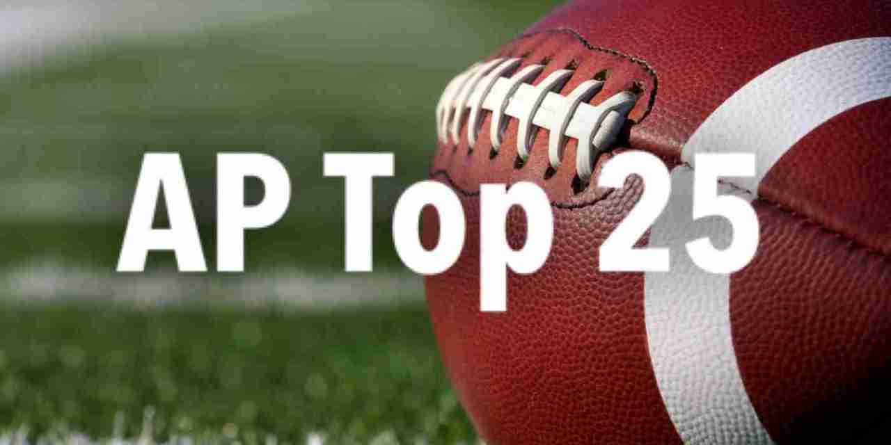 AP Top 25 Poll: Rebels move up one spot