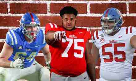 Ole Miss Offensive Line Recognized for Performance against Austin Peay