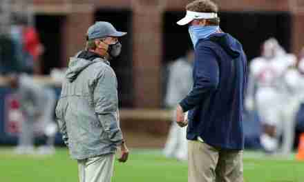 Lane Kiffin and Nick Saban exchange compliments…and look to avoid the 'rat poison'