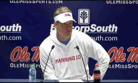 VIDEO: Ole Miss head coach Lane Kiffin Postgame Press Conference