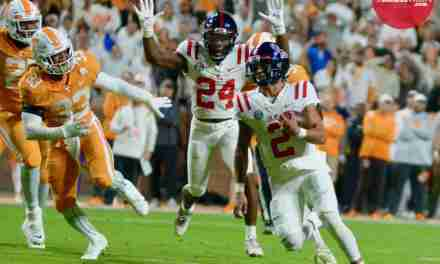 """Ole Miss coach Lane Kiffin does """"not feel good"""" about QB Matt Corral's status for LSU game"""