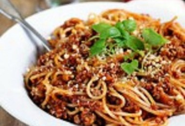 Lorna's Spaghetti Bolognese