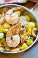 Thai Fried Prawn and Pineapple Rice - TheRecipe.Website