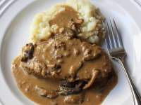 Meatloaf with Mushroom Sauce - TheRecipe.Website