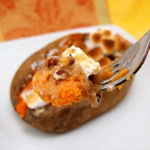 Twice Baked Sweet Potatoes - Therecipe.website