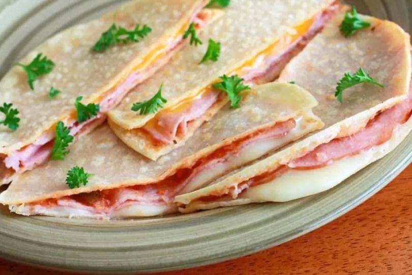 Ham Sandwich and Nectarine Salsa - TheRecipe.Website