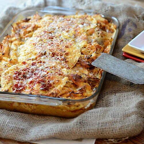 Spicy Chicken Tortilla Casserole - TheRecipe.Website