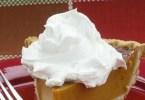 Easy Frost Pumpkin Pie