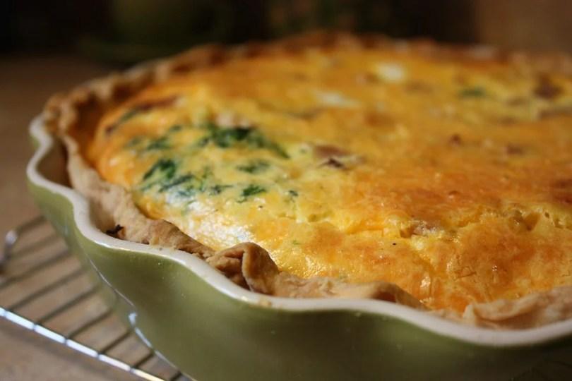 Mushroom and Sour Cream Pie - TheRecipe.Website
