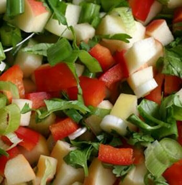 Rosemary Apple Salsa - TheRecipe.Website