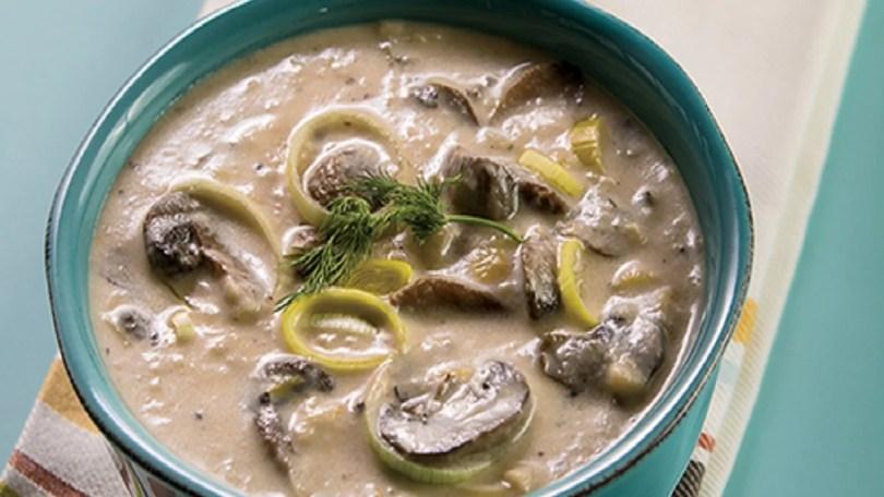 Turkey Mushroom Soup