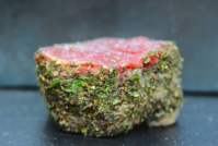 Roasted Fillet of Beef with Whole-Grain Mustard & Herb Crust - TheRecipe.Website