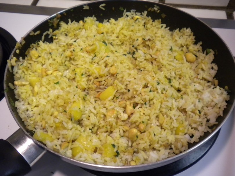 Curried Rice and Pineapple - TheRecipe.Website