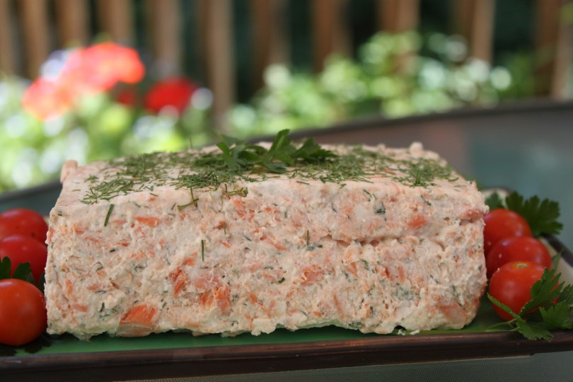 Salmon Mousse with Sour Cream Dill Sauce - TheRecipe.Website