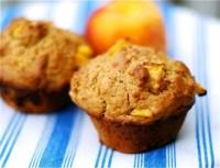 Spiced Peach Muffins - TheRecipe.Website