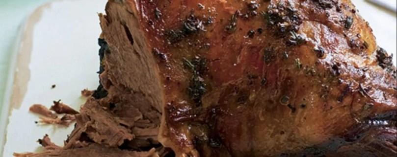 leg of lamb with gravy - Onlinerecipe.website