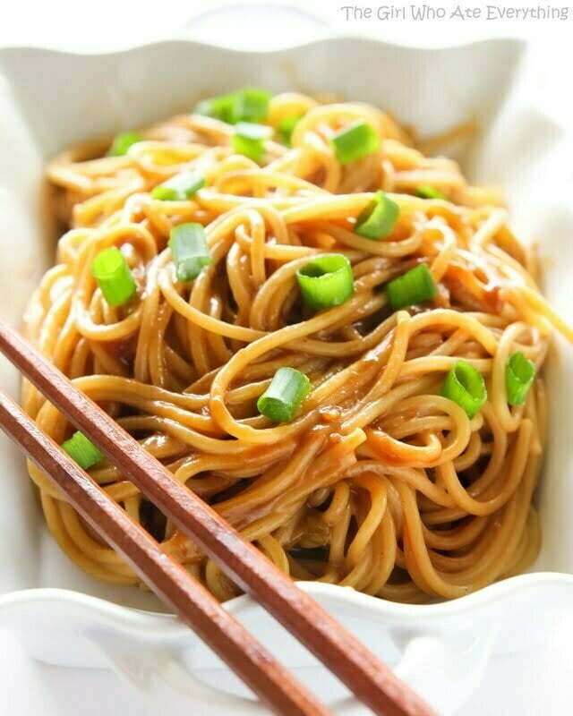 Noodles with Peanut Sauce - TheRecipe.Website