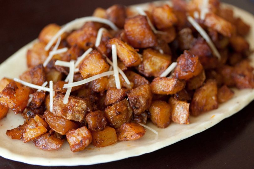 Oven Fried Potatoes with Parmesan Cheese - TheRecipe.Website