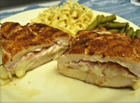 Grilled Chicken Breasts Cordon Bleu - TheRecipe.Website
