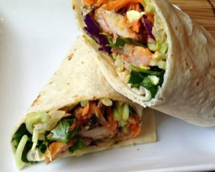 Grilled Chicken Wraps - TheRecipe.Website