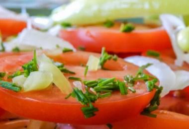 Chilean Salad - Ensalada Chilena - onlinerecipe.club