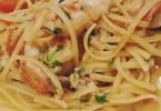 Linguini with Squid and Garlic